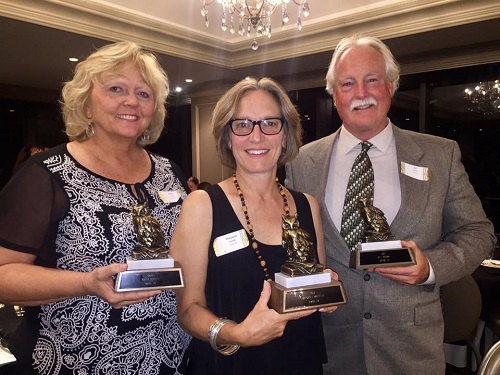 WHO Award Recipients - recognized for their work supporting ITA/CTA/NEA and public education.